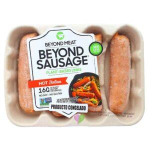 Salchicha Vegana Hot Italian Beyond Sausage BEYOND MEAT x 400 Gramos