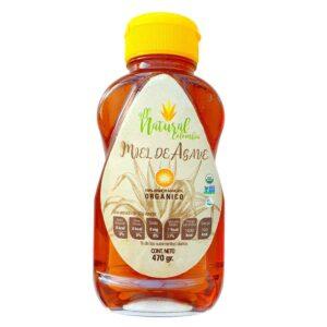 Miel de Agave Orgánica ALL NATURAL x 470 Gramos