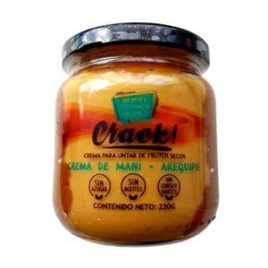Crema de Maní con Arequipe CRACK x 220 Gramos