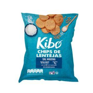 Chips de Lentejas Sal Marina KIBO x 28 Gramos