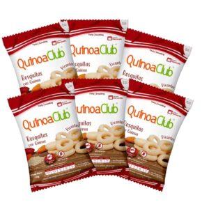 Rosquillas con Quinua Picantes QUINUA CLUB x 6 Unidades
